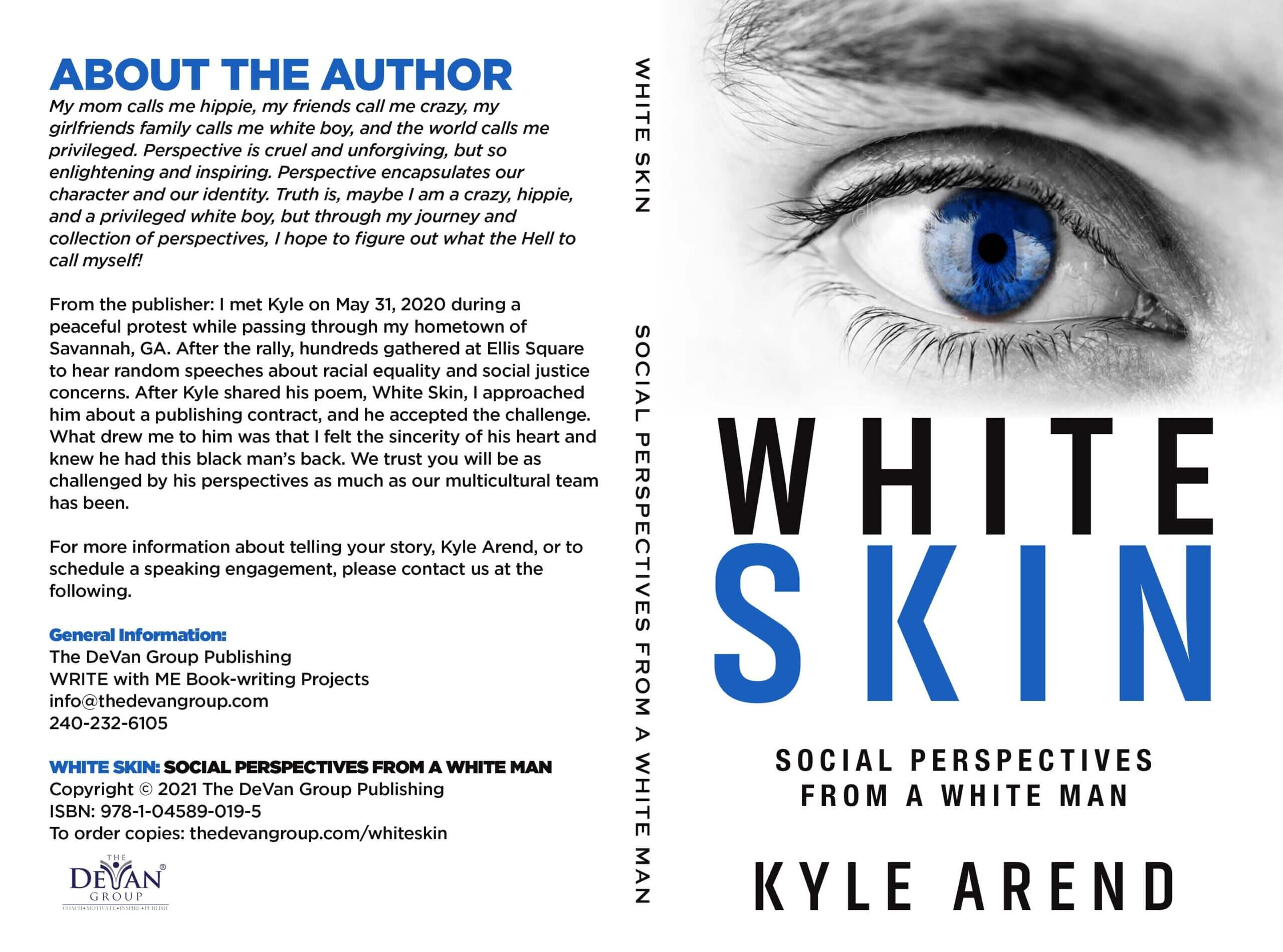 White Skin: Social Perspectives from a White Man